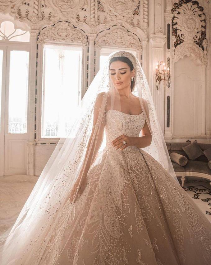 فستان زفاف جسيكا عازار