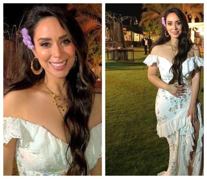 فستان زفاف بسنت شوقي الثاني