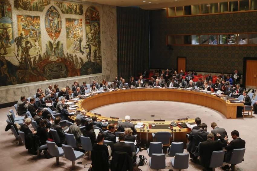 إحدى جلسات مجلس الأمن. (أرشيفية)