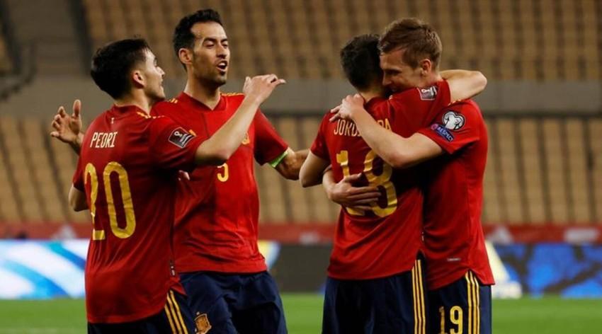 منتخب إسبانيا. (رويترز)