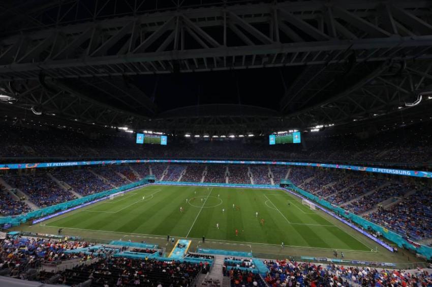 ملعب غازبروم أرينا في سانت بطرسبرغ. (رويترز)
