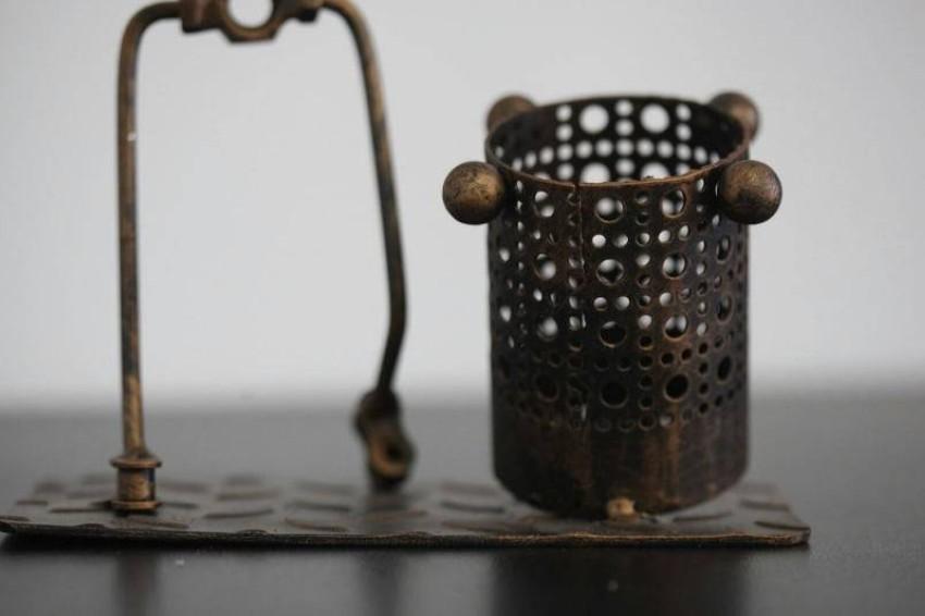 تحف فنية من خردة الحديد