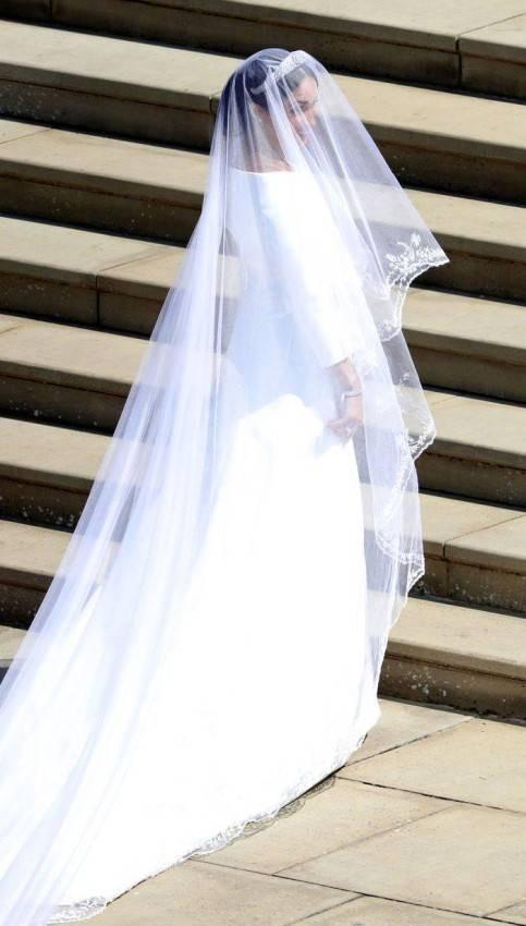 فستان زفاف ميغان