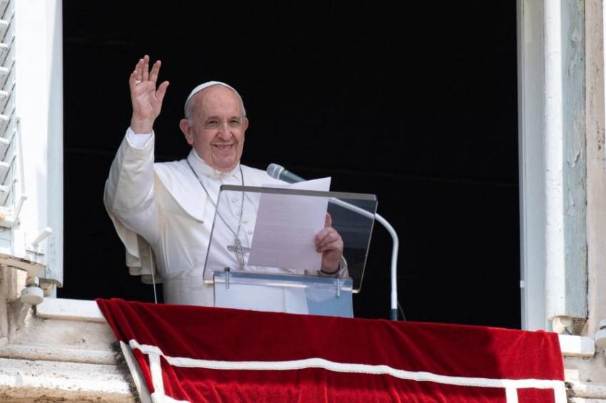 البابا فرنسيس - أ ف ب.