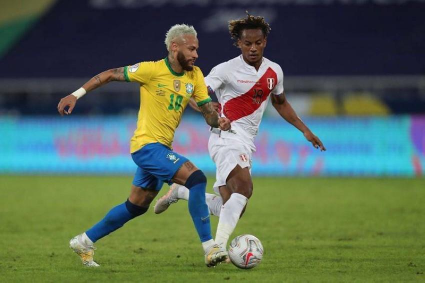 البرازيل ضد بيرو. (سبورتس كيدا)