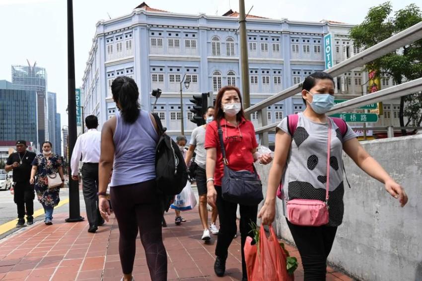 أعلنت الصين تسجيل 57 إصابة جديدة مؤكدة بفيروس كورونا - أ ف ب.