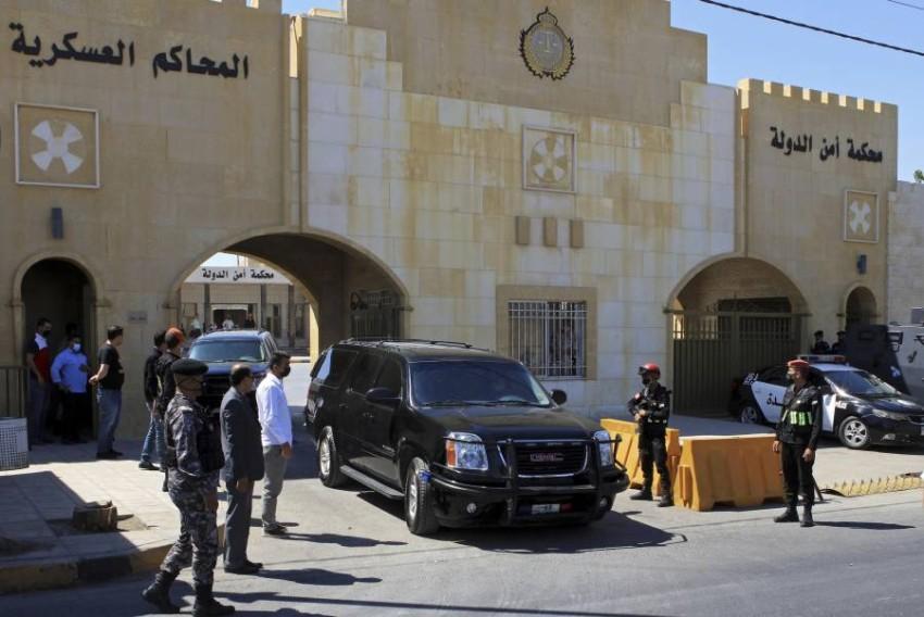 مبنى محكمة أمن الدولة في عمان. (أ ب)