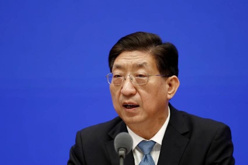 نائب وزير الصحة الصيني. (رويترز)