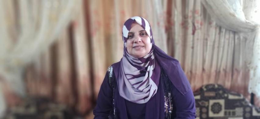 الفلسطينية مها الحصين
