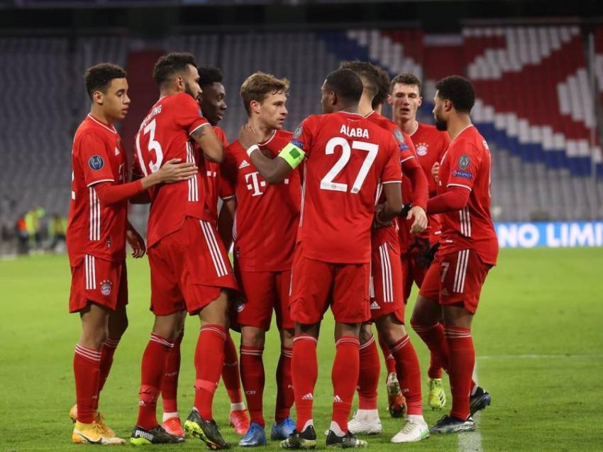 فريق بايرن ميونيخ. (غيتي)