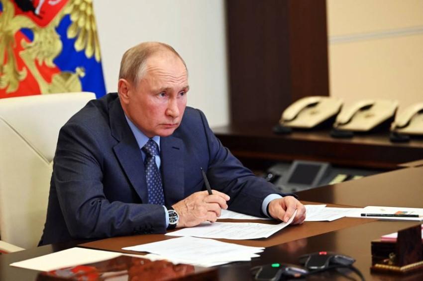 الرئيس الروسي فلاديمير بوتين - أ ف ب.