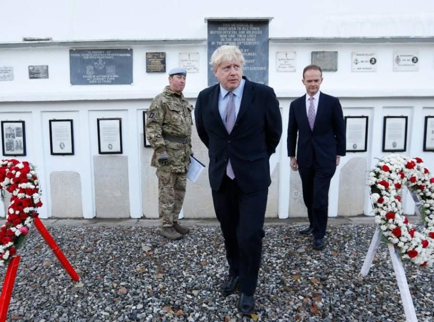 رئيس الوزراء البريطاني بوريس جونسون - أ ف ب.