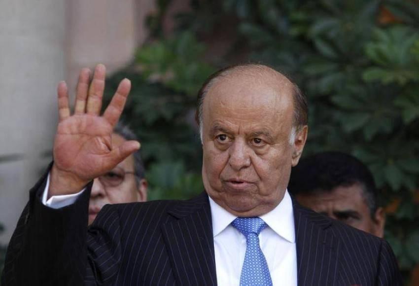 عبدربه منصور هادي. (رويترز)
