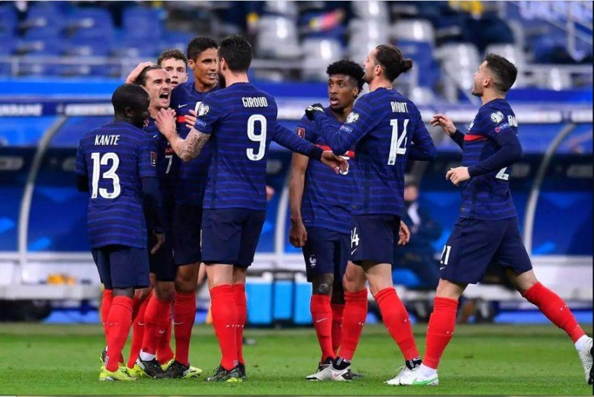 منتخب فرنسا (أ ف ب)
