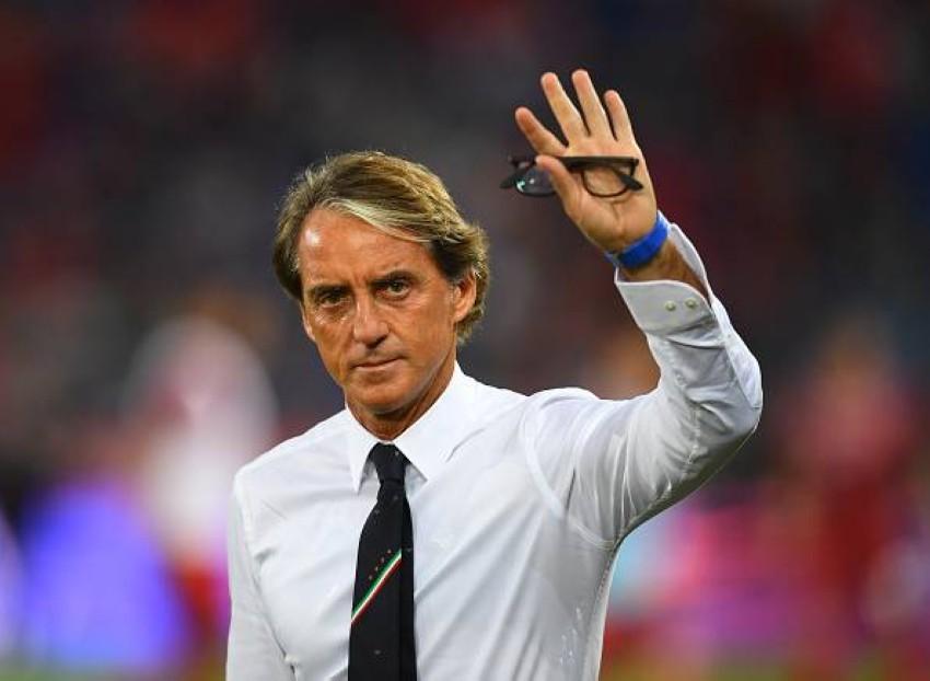 مدرب منتخب إيطاليا روبرتو مانشيني (غيتي)