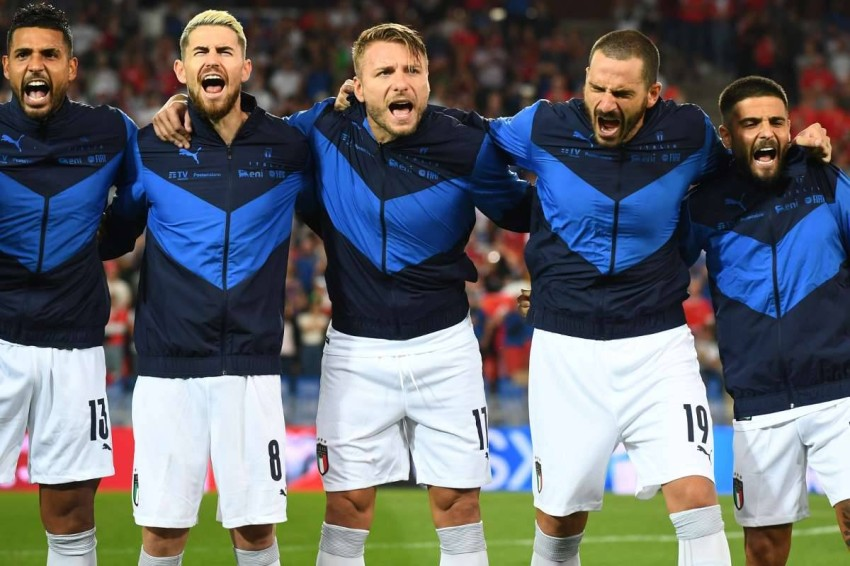 منتخب إيطاليا ينفرد بالرقم القياسي على حساب البرازيل. (غيتي)