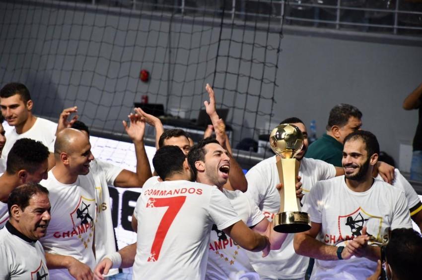 الزمالك بطل السوبر لكرة اليد (الاتحاد المصري لكرة اليد)