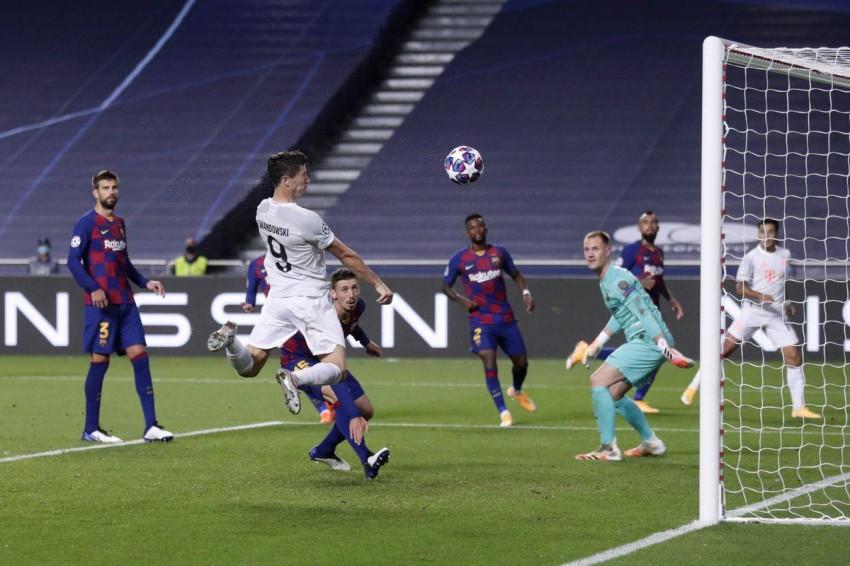 فاز بايرن ميونيخ 8 ـ 2 في آخر مواجهة. (غيتي)