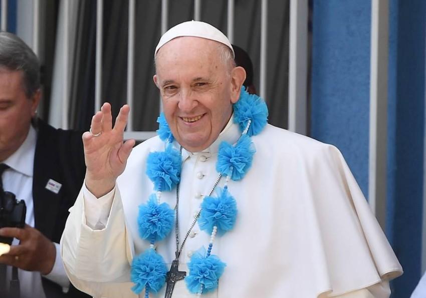 البابا فرنسيس. (إي بي أيه)