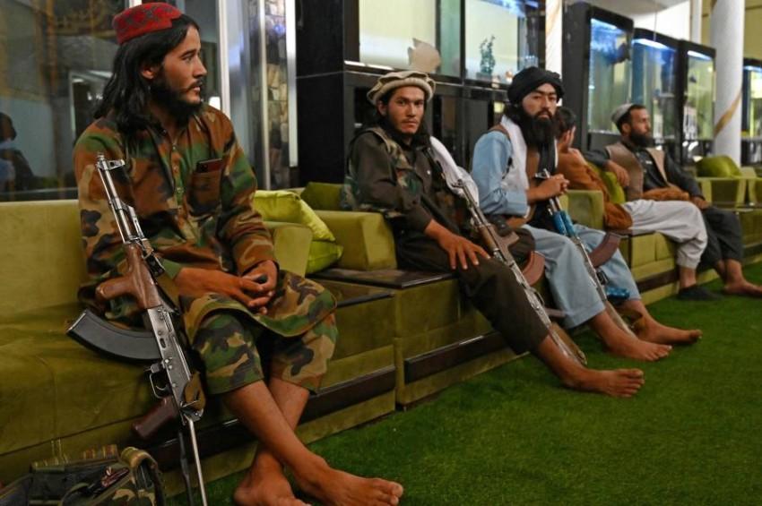 مقاتلو طالبان. (أ ف ب)