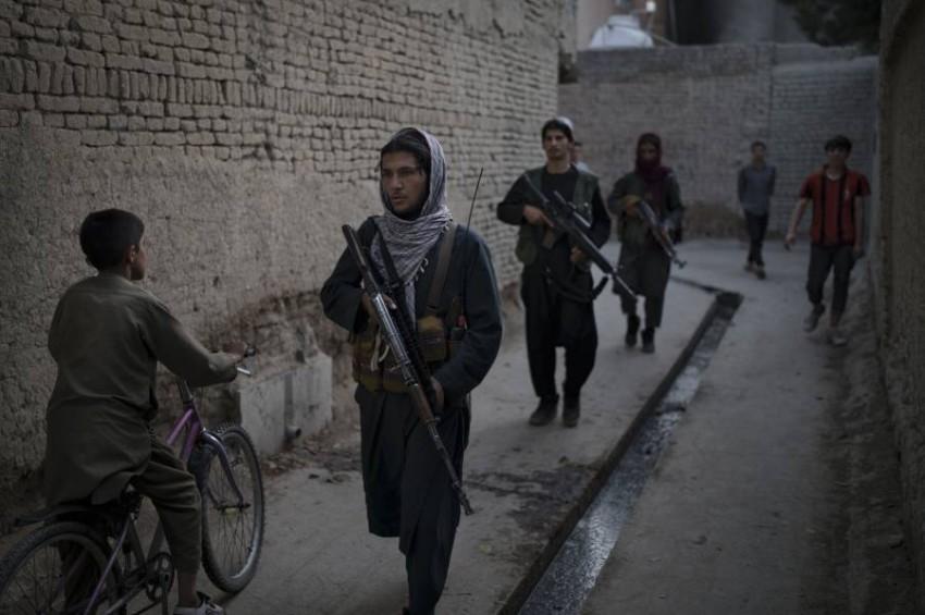 مقاتلو طالبان. (أ ب)