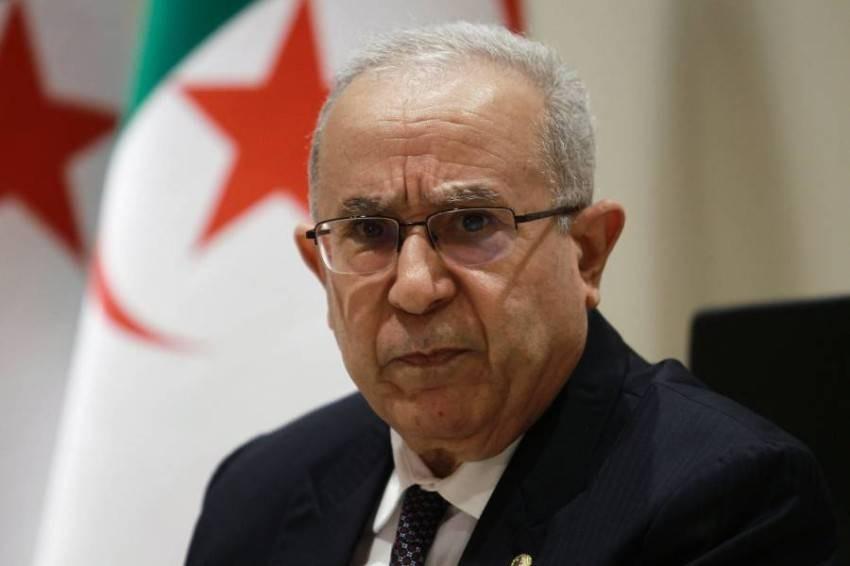 وزير الخارجية الجزائري رمطان لعمامرة - أ ف ب.
