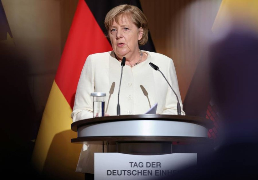المستشارة الألمانية أنجيلا ميركل - رويترز.