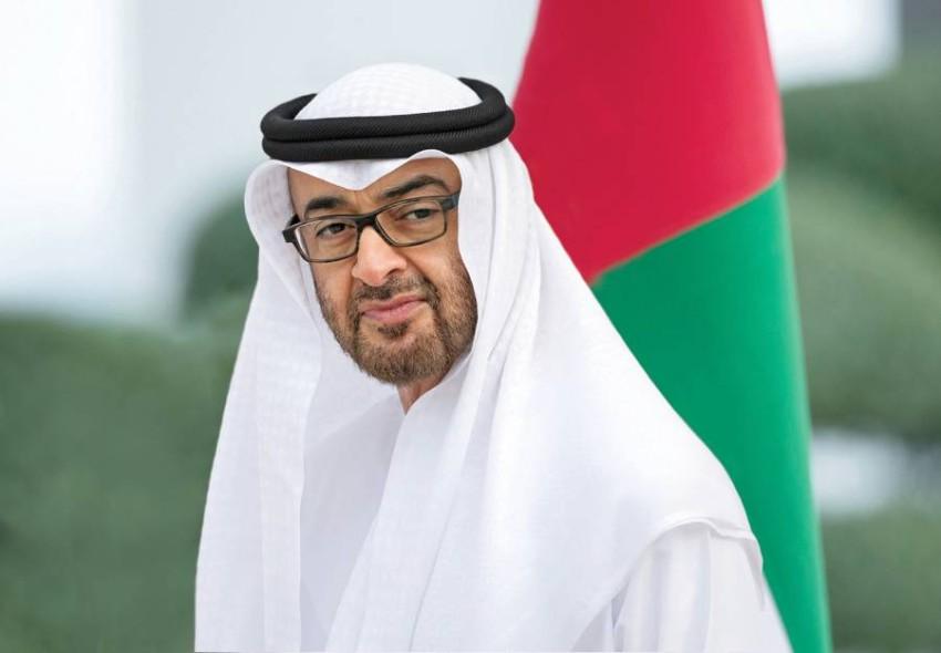 محمد بن زايد.