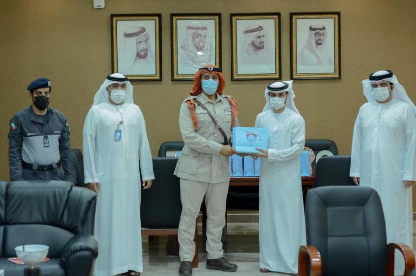 من فعاليات تكريم شرطة أبوظبي للمعلمين. (من المصدر)