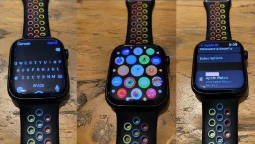 ساعة Apple Watch Series 7
