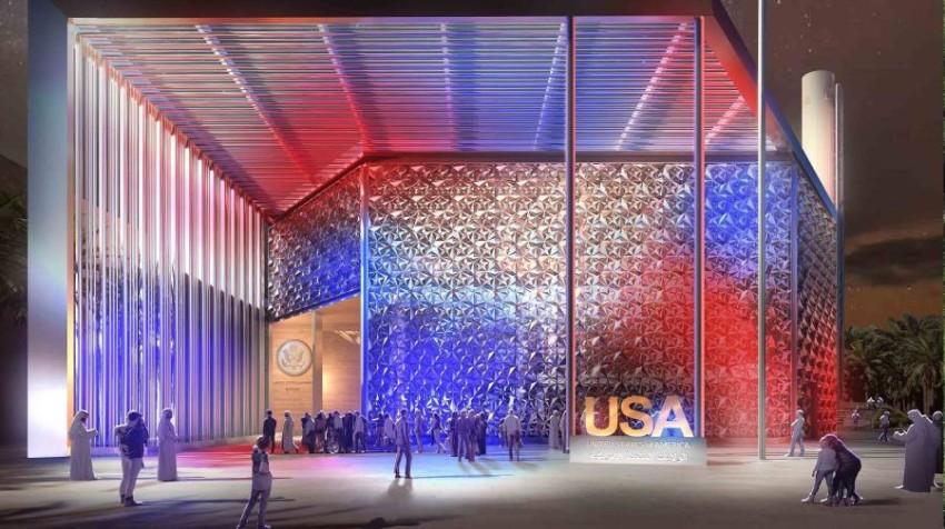 جناح الولايات المتحدة الأمريكية (من المصدر)
