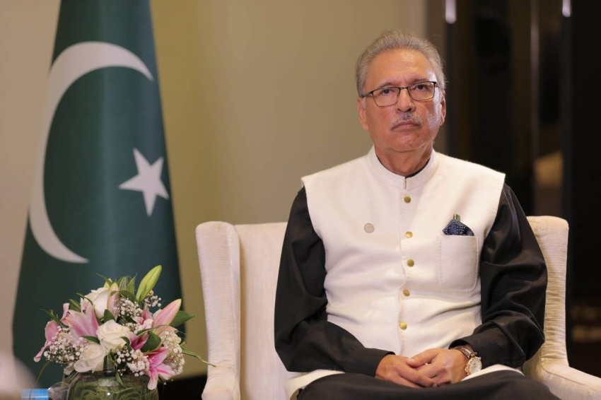 الدكتور عارف علوي رئيس جمهورية باكستان.