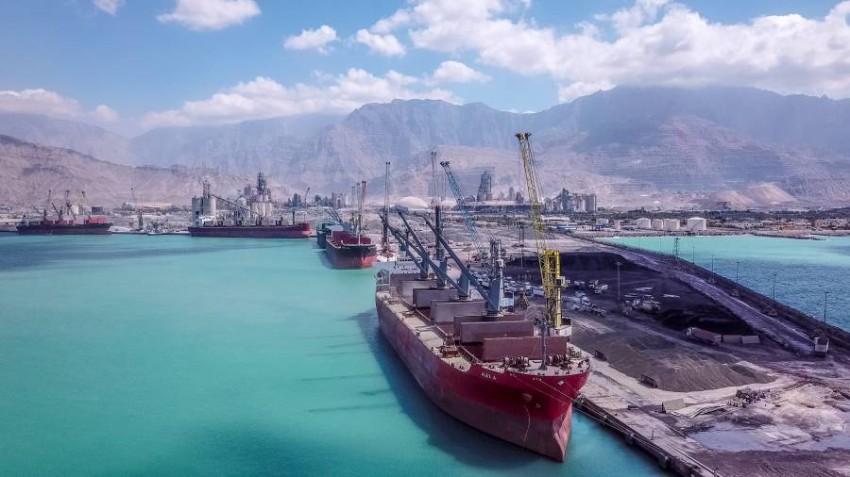 ميناء رأس الخيمة. (أرشيفية)