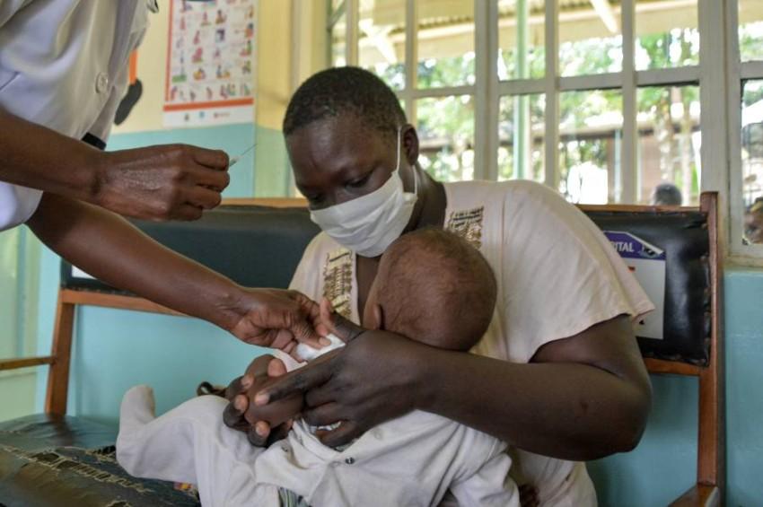 يقي من حالات الملاريا الشديدة بنسبة 30% تقريباً - أ ف ب.