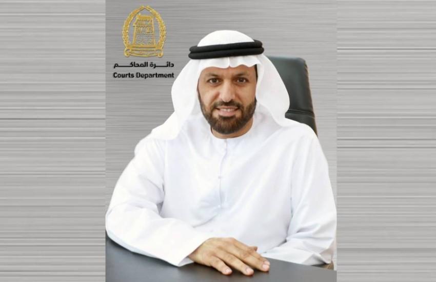 رئيس دائرة محاكم رأس الخيمة المستشار أحمد محمد الخاطري. (من المصدر)