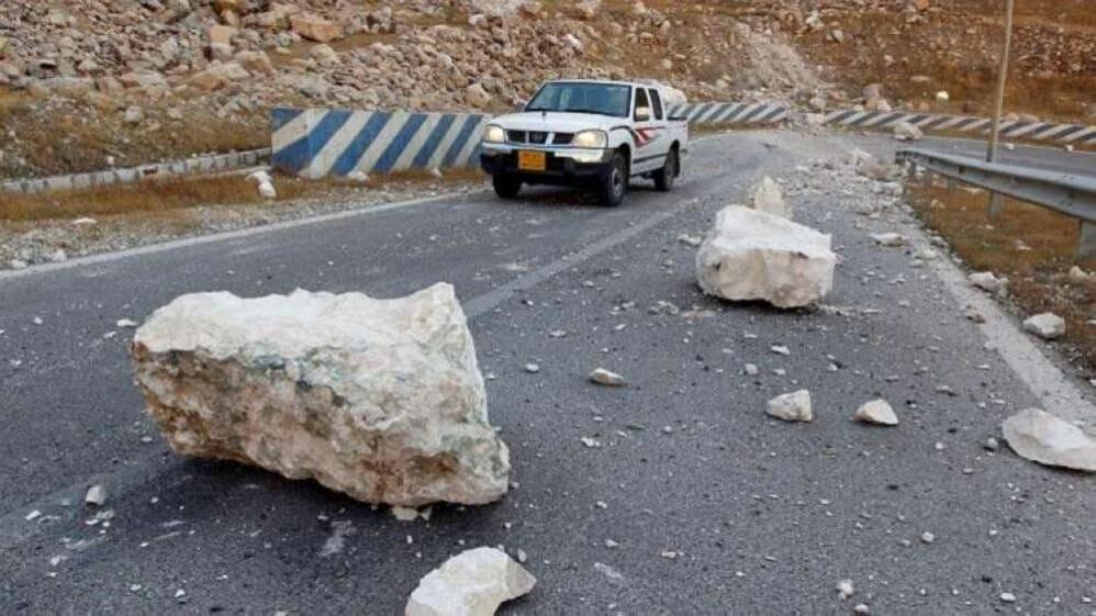 زلزال يضرب غربي إيران -