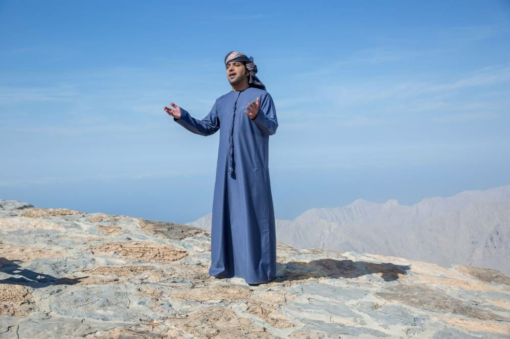 عيضة في الإمارات: رَدّي «فني» على الشائعات المغرضة -