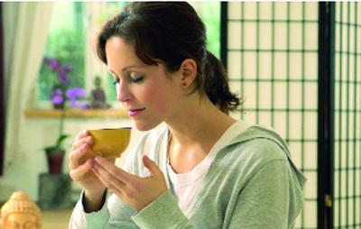 شاي مهدئ من أحجار الكهرمان