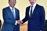تعاون دبلوماسي مع مدغشقر